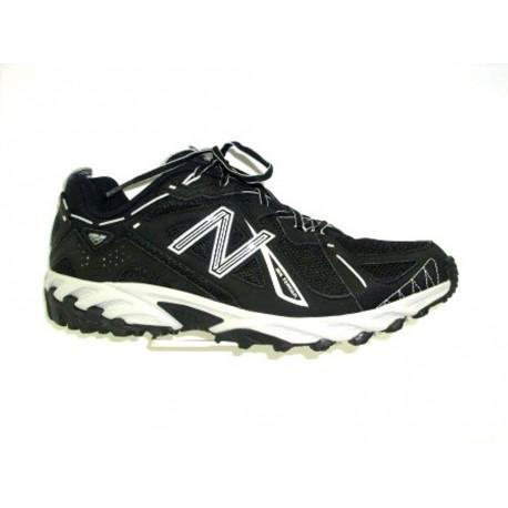 Běžecká obuv do terénu, New Balance, černo-stříbrná