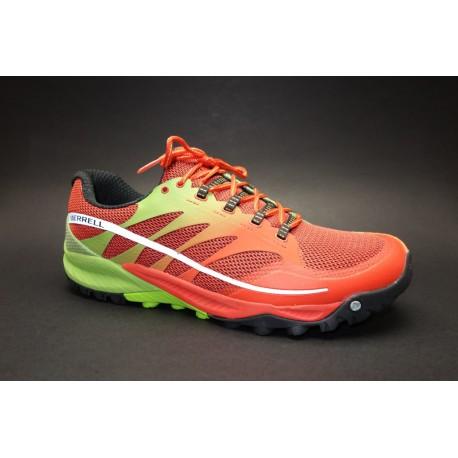 Běžecká obuv do terénu, Merrell, All Out Charge, oranžovo ...