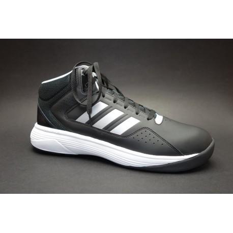 Basketbalová obuv, Adidas, Cloudfoam Ilation Mid, černo-stříbrná