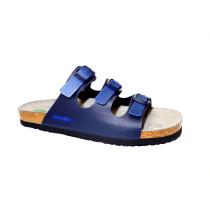 Letní vycházkové pantofle, Dr. Brinkmann, modrá