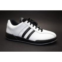 Pracovní obuv, Moleda, Sport, šíře H, bílo-černá