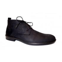 Vycházková obuv-kotníková, Jomos, Street, šíře H, černá