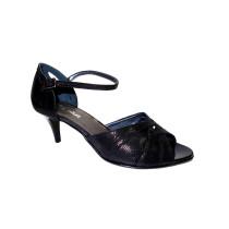 Letní vycházková obuv, De-Plus, šíře G 1/2, F-226 černá