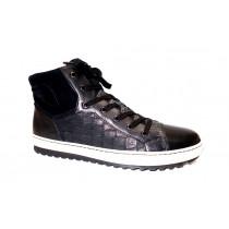 Zimní vycházková obuv-kotníková, Gabor, černá