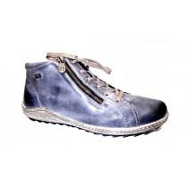 Zimní vycházková obuv-kotníková, Remonte, modrá