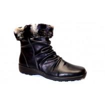 Zimní vycházková obuv-kotníková, Remonte, černá