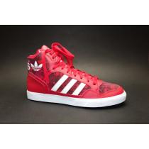 Obuv pro volný čas, Adidas, Extaball W, červeno-bílá