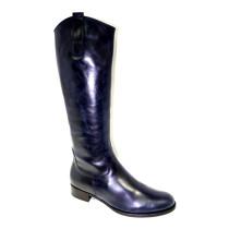 Zimní vycházková obuv-kozačky, Gabor, (lýtko S), tmavě modrá