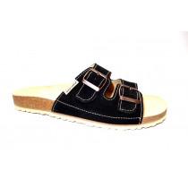 Letní vycházkové pantofle, Natur Comfort, černá