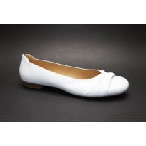 Vycházková obuv-baleríny, Gabor, bílá