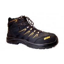 Pracovní obuv, Bennon, Orlando XTR S3 High, černo-oranžová