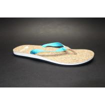 Plážová obuv, Adidas, Eezay Parley W, modro-bílo-hnědá