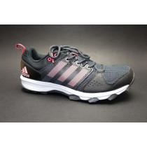 Běžecká obuv do terénu, Adidas, Galaxy Trail W, černo-růžová