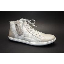 Vycházková obuv-kotníková, Remonte, šedo-béžová