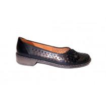 Letní vycházková obuv-flexiblová, Ara, Zaros-Ang, šíře H, černá