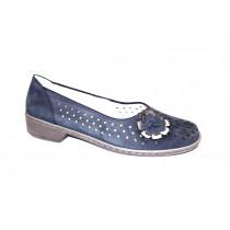 Letní vycházková obuv-flexiblová, Ara, Zaros-Ang, šíře H, tmavě modrá