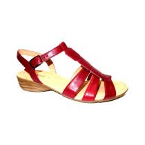 Letní vycházková obuv, Gabor, červená