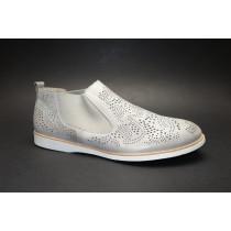 Vycházková obuv-kotníková, Remonte, šedobéžová
