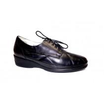Vycházková obuv, Waldläufer, šíře K, černá