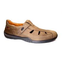 Letní vycházková obuv, Jomos, Forum, šíře G 1/2, asphalt