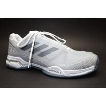 Tenisová obuv, Adidas, Barricade Club, šedo-stříbrná