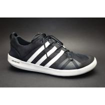 Letní obuv pro volný čas+obuv do vody, Adidas, Terrex CC Boat, černo-bílá