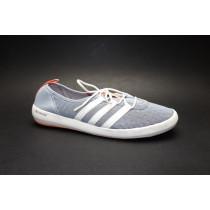 Letní obuv pro volný čas+obuv do vody, Adidas, Terrex CC Boat Sleek, šedo-bílá