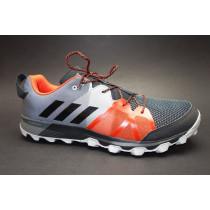 Běžecká obuv do terénu, Adidas, Kanadia 8.1 TR M, šedo-černo-červená