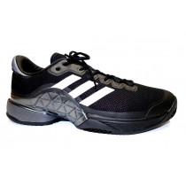 Tenisová obuv, Adidas, Barricade 2017 Clay, černo-šedo-bílá