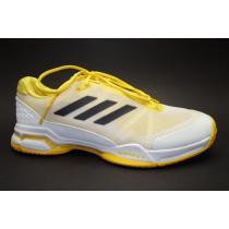 Tenisová obuv, Adidas, Barricade Club, bílo-žluto-černá