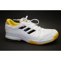 Tenisová obuv, Adidas, Barricade Court, bílo-černo-žlutá