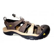 Letní turistická obuv pro středně náročný terén, Keen, Newport H2, šedá