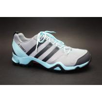 Turistická obuv pro středně náročný terén, Adidas, Terrex AX2R W, šedá/aqua