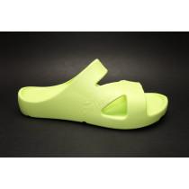 Zdravotní pantofle, Peter Legwood, verde acido