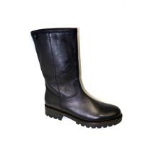 Zimní vycházková obuv-polokozačky, Gabor, černá