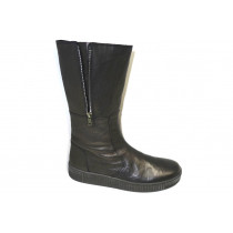 Zimní vycházková obuv-flexiblová-polokozačky, Gabor, černá