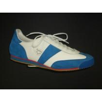 Halová obuv+obuv pro volný čas, Botas, Classic 66, bílo-modrá