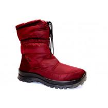 Zimní vycházková obuv-sněhule, Romika, Alaska 118 TEX, bordo