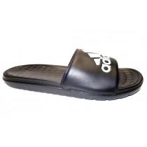 Plážová obuv, Adidas, Voloomix, černo-bílá