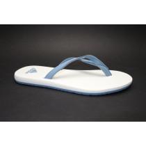 Plážová obuv-žabky, Adidas, Eezay Essence W, šedomodro-bílá