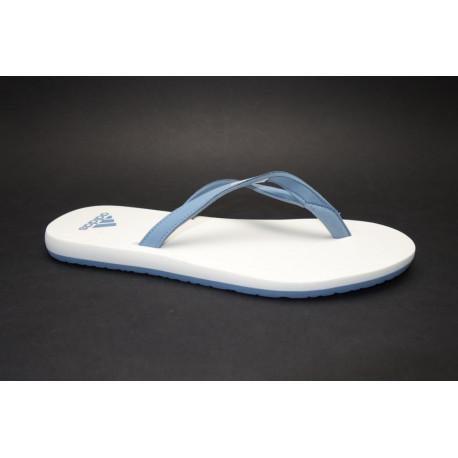 Plážová obuv žabky, Adidas, Eezay Essence W, šedomodro bílá