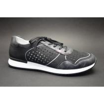 Letní vycházková obuv, Remonte, černá/antracit