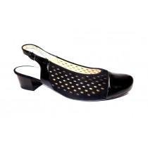 Letní vycházková obuv, Ara, Brügge, šíře K, černá