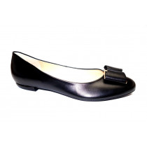 Vycházková obuv-baleríny, Högl, černá