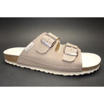Letní vycházkové pantofle, Natur Comfort, světle hnědá
