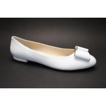 Vycházková obuv-baleríny, Högl, bílá