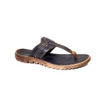 Letní vycházkové pantofle (žabky)-flexiblová obuv, Josef Seibel, Lucia 09, tmavě modrá