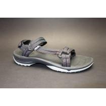 Letní turistická obuv pro středně náročný terén, Teva, W Terra-fi Lite, černá/kombi