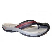 Letní vycházková obuv-žabky, Keen, Waimea H2, černo-šedo-červená
