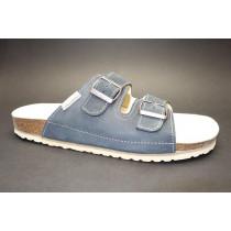 Letní vycházkové pantofle, Natur Comfort, tmavě modrá